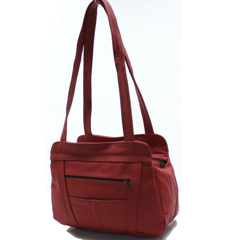 Tote Leather Bag - WholesaleLeatherSupplier.com  - 13
