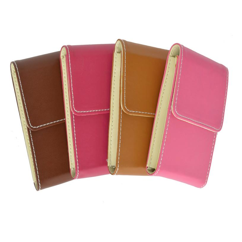 Genuine Leather Pull out Credit Cards holder - WholesaleLeatherSupplier.com  - 1