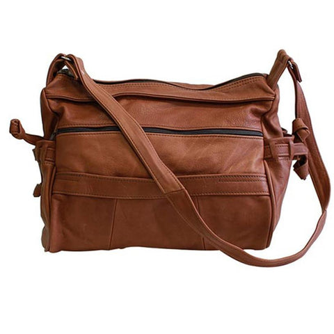 Luxuries Genuine Leather Shoulder Bag - WholesaleLeatherSupplier.com  - 5