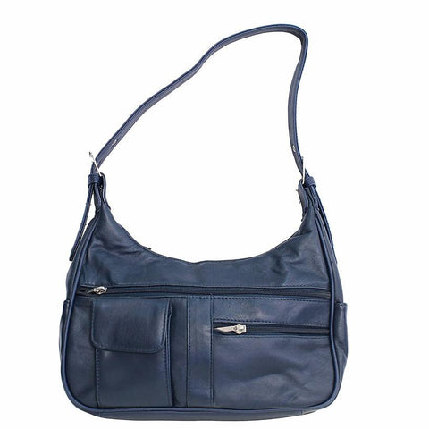 Soft Genuine Leather Shoulder Bag - WholesaleLeatherSupplier.com  - 2