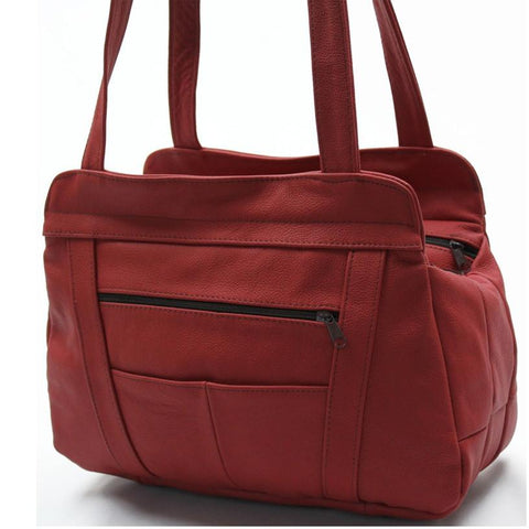 Tote Leather Bag - WholesaleLeatherSupplier.com  - 1