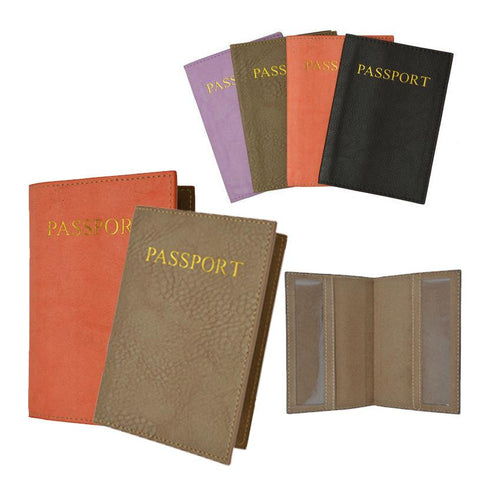 Passport Holder - Tan - WholesaleLeatherSupplier.com  - 12