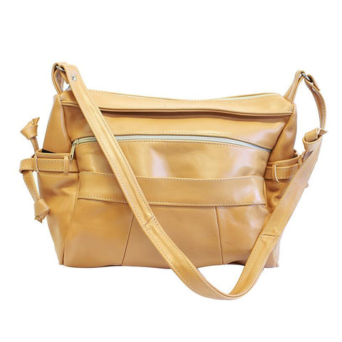 Luxuries Genuine Leather Shoulder Bag - WholesaleLeatherSupplier.com  - 1
