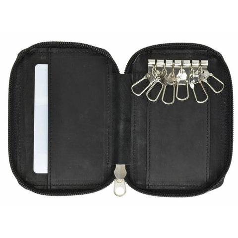 Genuine Leather Classic Key Holder Wallet