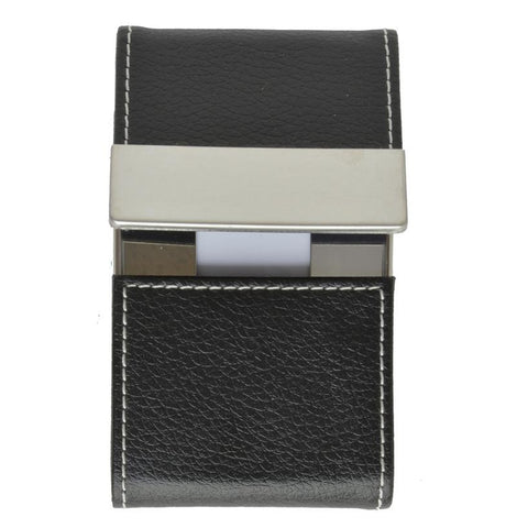 Faux Leather Business Card Holder - WholesaleLeatherSupplier.com  - 1