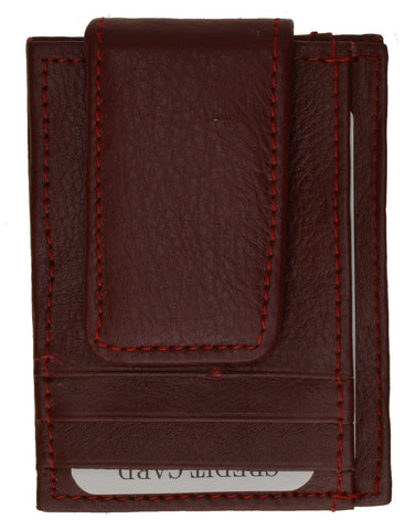 Leather Money Clip - WholesaleLeatherSupplier.com  - 2