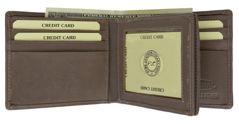 Leather Wallet with Nice Card Board Pack