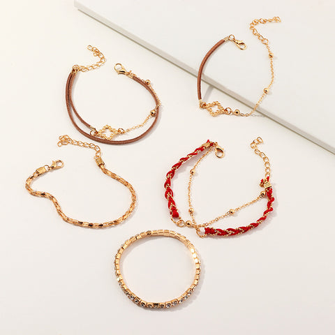 5 PC. Bracelet set Women Bracelets