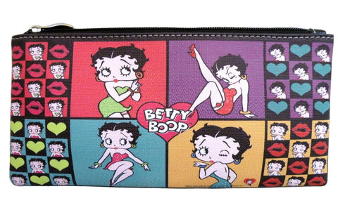 Licensed Betty Boop Pencil-Makeup Pouch