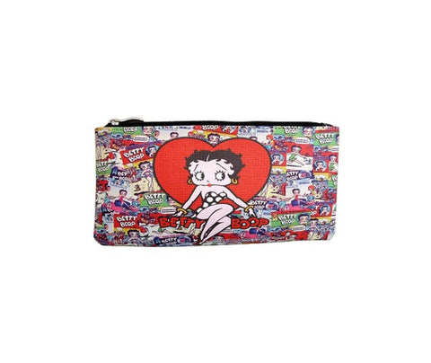 Licensed Betty Boop Makeup Pouch