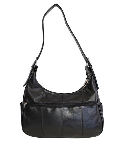 Soft Genuine Leather Shoulder Bag - WholesaleLeatherSupplier.com  - 9