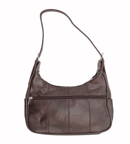 Soft Genuine Leather Shoulder Bag - WholesaleLeatherSupplier.com  - 11
