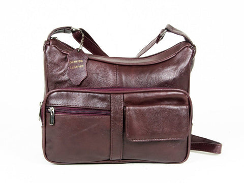A Soft Genuine Leather Purse - Brown Color - WholesaleLeatherSupplier.com  - 3