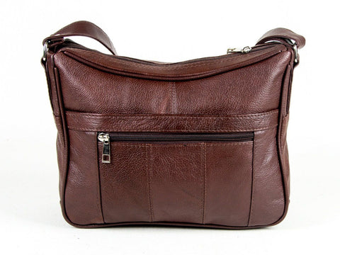 A Soft Genuine Leather Purse - Brown Color - WholesaleLeatherSupplier.com  - 15