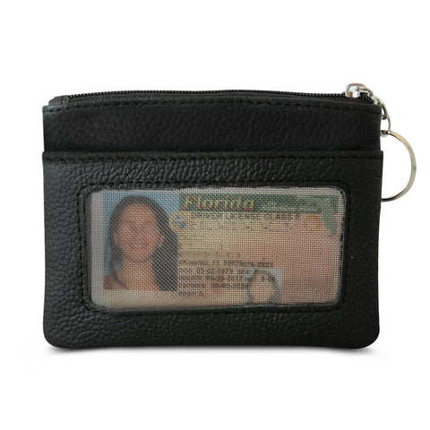 Mini Skinny Soft leather ID Case