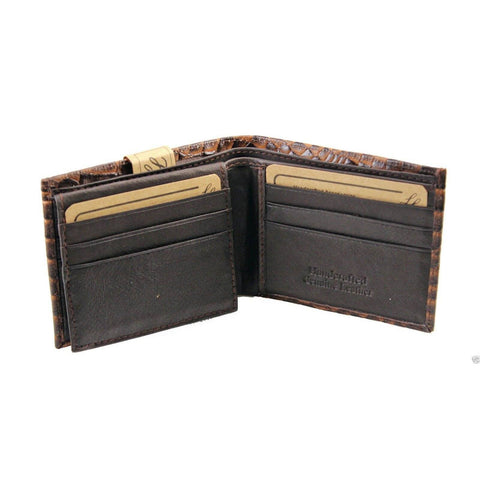 Handcrafted Leather Wallet - Brown