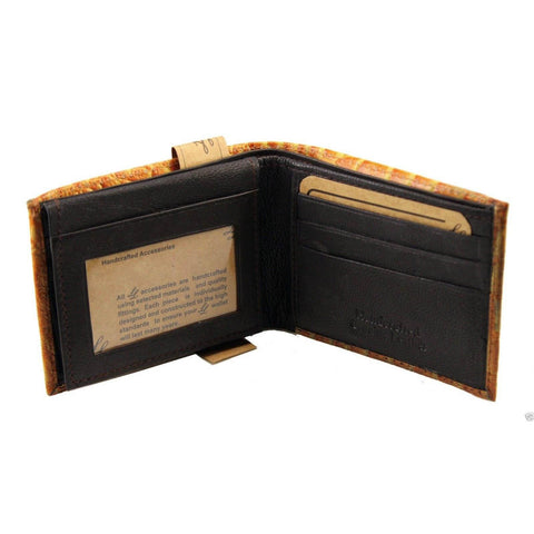 Handcrafted Leather Wallet - Tan