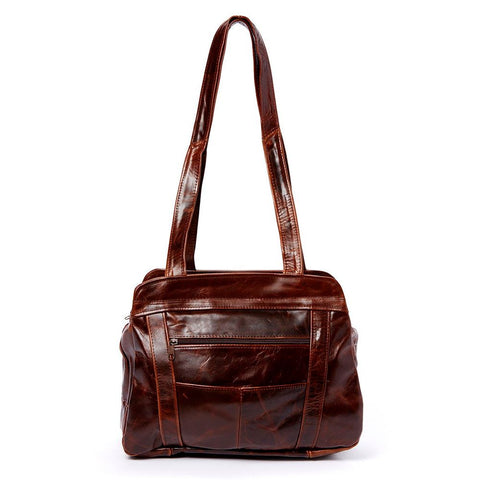 Lifetime Soft Leather Tote Bag - 7 Colors