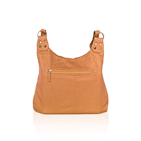 Chic Washable Vegan Leather Series - Casual Messenger Bags - Brown - WholesaleLeatherSupplier.com  - 18