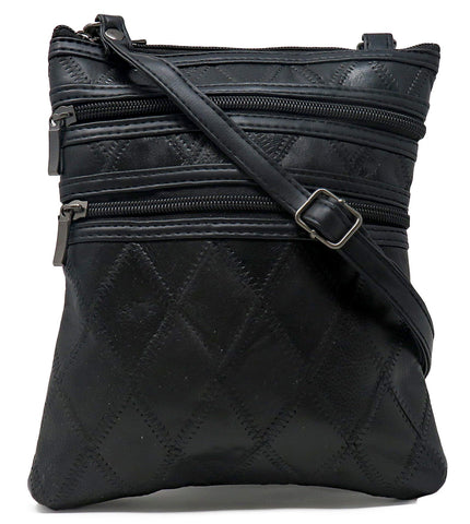 Leather Patchwork Handbag Crossbody Bags
