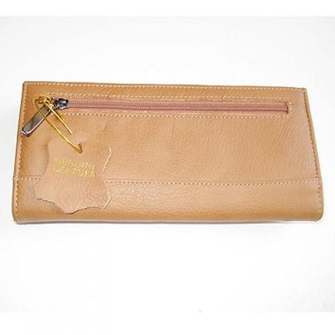 Super Soft Leather 7-Inch Framed Clutch Wallet - WholesaleLeatherSupplier.com  - 3