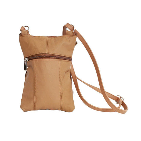Leather Cross-Body Bag - WholesaleLeatherSupplier.com  - 8