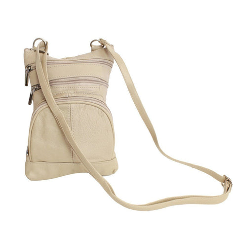 Leather Cross-Body Bag - WholesaleLeatherSupplier.com  - 7