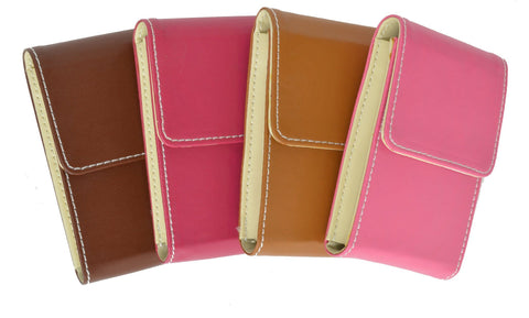 Genuine Leather Pull out Credit Cards holder - WholesaleLeatherSupplier.com  - 2