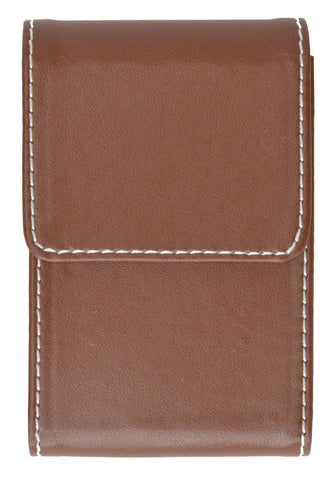 Genuine Leather Pull out Credit Cards holder - WholesaleLeatherSupplier.com  - 11