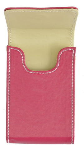 Genuine Leather Pull out Credit Cards holder - WholesaleLeatherSupplier.com