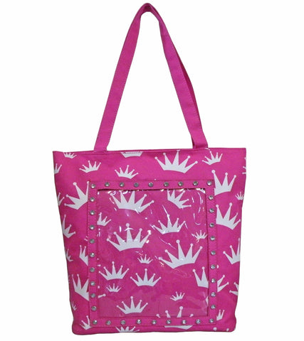 AFONiE Tote Bag Crown Print