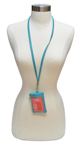 I.D. Holder with Neck Strap - WholesaleLeatherSupplier.com  - 2