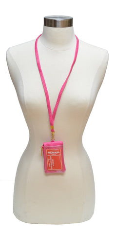 I.D. Holder with Neck Strap - WholesaleLeatherSupplier.com  - 3