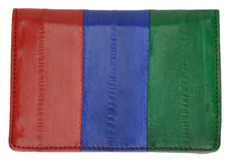 Wallet - Genuine Eel Skin Business Card Holder - WholesaleLeatherSupplier.com  - 24