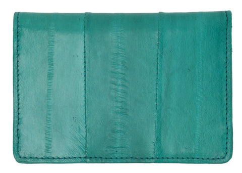 Wallet - Genuine Eel Skin Business Card Holder - WholesaleLeatherSupplier.com  - 2