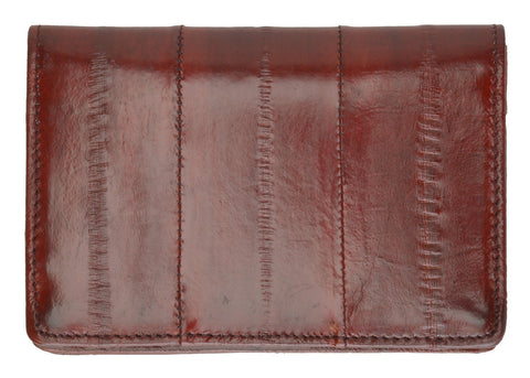 Wallet - Genuine Eel Skin Business Card Holder - WholesaleLeatherSupplier.com  - 8