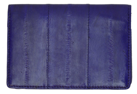 Wallet - Genuine Eel Skin Business Card Holder - WholesaleLeatherSupplier.com  - 12