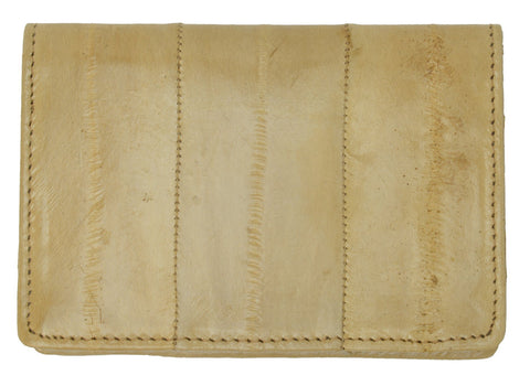 Wallet - Genuine Eel Skin Business Card Holder - WholesaleLeatherSupplier.com  - 15