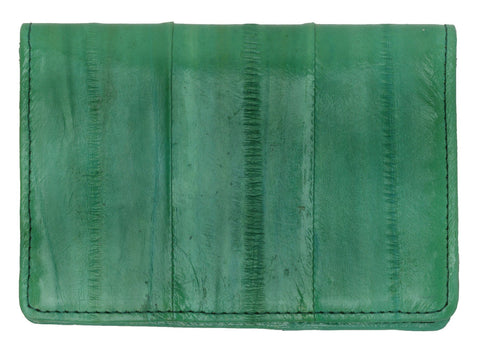 Wallet - Genuine Eel Skin Business Card Holder - WholesaleLeatherSupplier.com  - 18