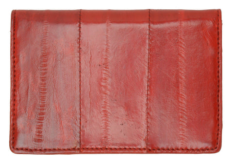 Wallet - Genuine Eel Skin Business Card Holder - WholesaleLeatherSupplier.com  - 21