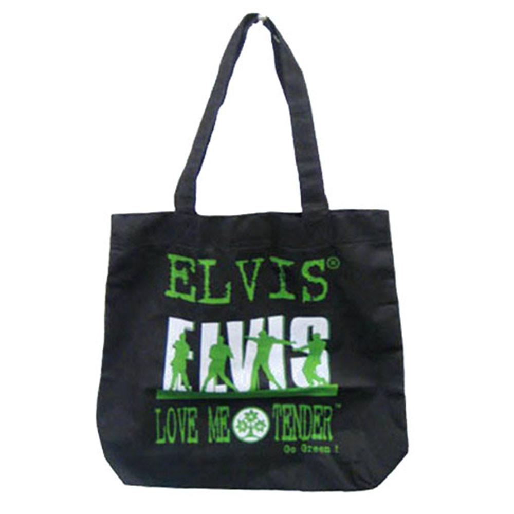 Licensed Elvis Go Green Eco-Friendly Tote