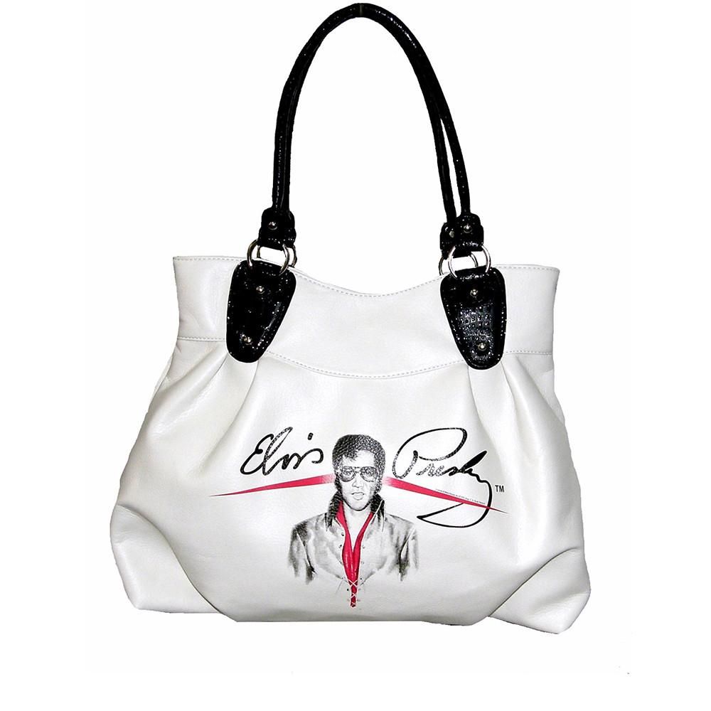 Licensed Elvis Presley Medium White Hobo