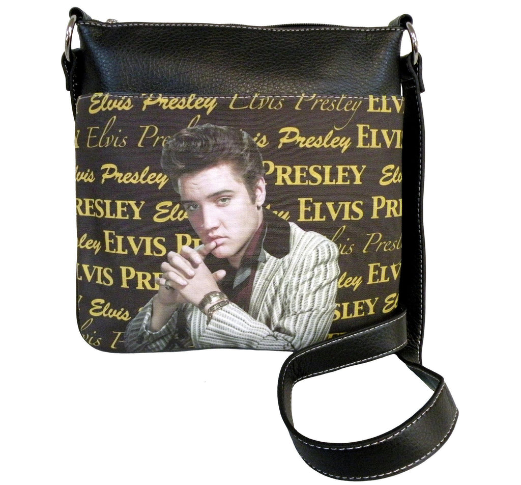 Licensed Elvis Presley messenger bag for women