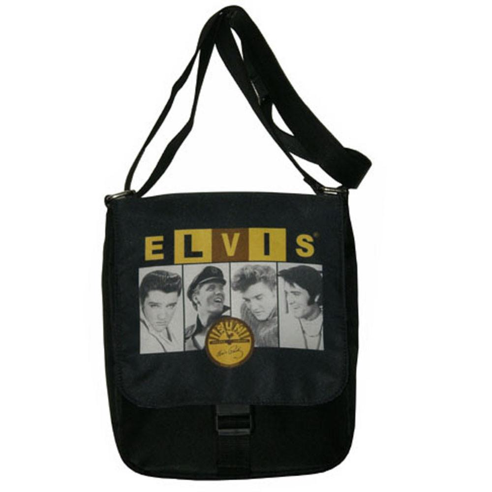 Licensed Elvis Presley & Sun Messenger Bag