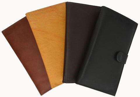 Unisex Genuine Leather Bi-Fold Credit Card Wallet - WholesaleLeatherSupplier.com  - 6