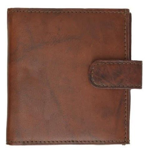 Unisex Genuine Leather Bi-fold Credit Card Wallet - WholesaleLeatherSupplier.com  - 8
