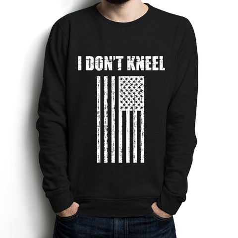 I Don't Kneel Long Sleeve Men Shirt