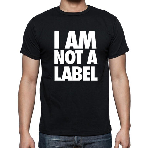 AFONiE I AM NOT A LABEL Men Graphic T-shirt