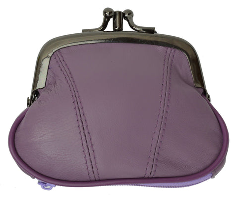 Wallet - Colors and Style Classic Leather Change Purse - WholesaleLeatherSupplier.com  - 7