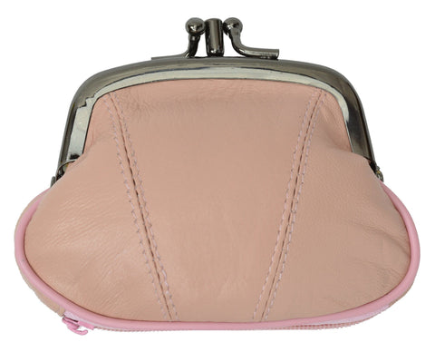 Wallet - Colors and Style Classic Leather Change Purse - WholesaleLeatherSupplier.com  - 8